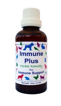 Immune Plus  Herbal immune support for your dog